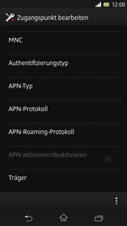 Sony Xperia Z - Internet - Apn-Einstellungen - 15 / 20