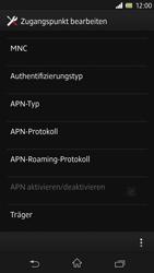 Sony Xperia Z - Internet - Manuelle Konfiguration - Schritt 15