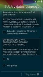 Samsung G850F Galaxy Alpha - Primeros pasos - Activar el equipo - Paso 5