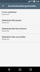 Sony Xperia XA1 - Anrufe - Rufumleitungen setzen und löschen - 1 / 1
