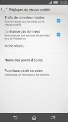 Sony Xperia Z2 - Internet et roaming de données - Désactivation du roaming de données - Étape 6