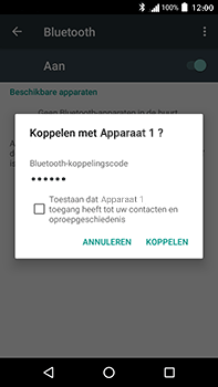 Acer Liquid Zest 4G Plus - Bluetooth - verbinden met ander Bluetooth apparaat - Stap 7