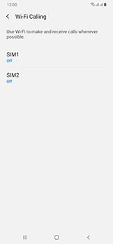 Samsung Galaxy A50 - WiFi - Enable WiFi Calling - Step 7