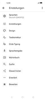 Oppo Find X2 Neo - Startanleitung - So fügen Sie eine Tastatursprache hinzu - Schritt 7
