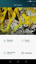 Huawei P8 Lite - Photos, vidéos, musique - Ecouter de la musique - Étape 4