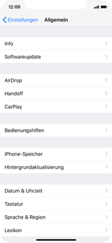 Apple iPhone XS - Software - Installieren von Software-Updates - Schritt 6