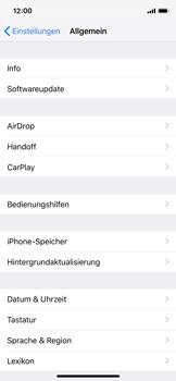 Apple iPhone X - iOS 12 - Software - Installieren von Software-Updates - Schritt 6