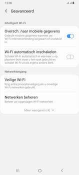 Samsung Galaxy A70 - wifi - schakel Wi-Fi Assistentie uit - stap 10