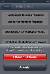 Apple iPhone 4 - Téléphone mobile - Réinitialisation de la configuration d