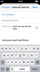 Apple iphone-5s-met-ios-12-model-a1457 - E-mail - Hoe te versturen - Stap 7
