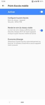 Sony Xperia 5 - WiFi - Comment activer un point d'accès WiFi - Étape 11