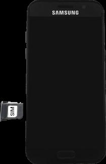 Samsung Galaxy A5 (2017) - SIM-Karte - Einlegen - 5 / 11
