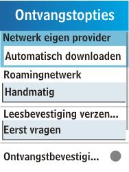 Samsung C3300K - MMS - probleem met ontvangen - Stap 9