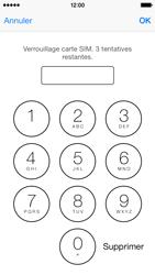 Apple iPhone 5c - Sécuriser votre mobile - Personnaliser le code PIN de votre carte SIM - Étape 7