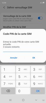 Samsung Galaxy S20 FE - Sécuriser votre mobile - Personnaliser le code PIN de votre carte SIM - Étape 9