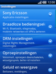 Sony Ericsson Xperia X10 Mini Pro - E-mail - handmatig instellen - Stap 8