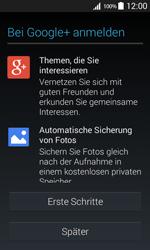 Samsung Galaxy Core Prime - Apps - Konto anlegen und einrichten - 20 / 23