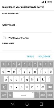 LG G6 H870 - E-mail - Account instellen (POP3 zonder SMTP-verificatie) - Stap 12