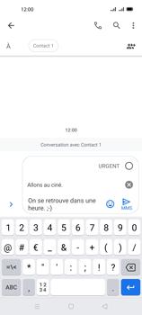 Oppo A72 - Contact, Appels, SMS/MMS - Envoyer un MMS - Étape 13