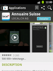 Samsung Galaxy Pocket - Applications - Installation d