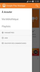 Samsung Galaxy A3 (A300FU) - Photos, vidéos, musique - Ecouter de la musique - Étape 6