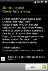 HTC A510e Wildfire S - Apps - Konto anlegen und einrichten - Schritt 17