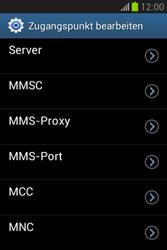 Samsung Galaxy Fame Lite - MMS - Manuelle Konfiguration - Schritt 12