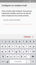 Samsung Galaxy S6 - E-mail - 032c. Email wizard - Outlook - Étape 9