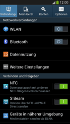 Samsung I9505 Galaxy S4 LTE - WLAN - Manuelle Konfiguration - Schritt 4