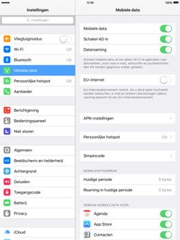 Apple iPad Air 2 iOS 9 - Internet - Internet gebruiken in het buitenland - Stap 7