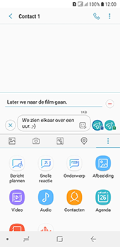 Samsung Galaxy A6 - MMS - afbeeldingen verzenden - Stap 13