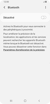 Samsung Galaxy S9 - Android Pie - Bluetooth - Jumelage d