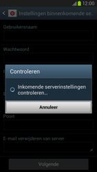 Samsung I9305 Galaxy S III LTE - E-mail - Handmatig instellen - Stap 12