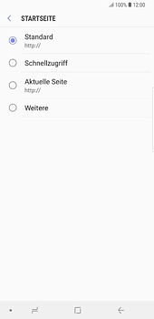 Samsung Galaxy S8 Plus - Android Oreo - Internet und Datenroaming - Manuelle Konfiguration - Schritt 25