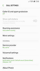 Samsung A320F Galaxy A3 (2017) - Android Oreo - Voicemail - Manual configuration - Step 7