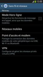Samsung Galaxy S 4 Mini LTE - Réseau - Sélection manuelle du réseau - Étape 5
