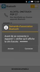 Alcatel POP C7 (OT-7041X) - Bluetooth - connexion Bluetooth - Étape 9
