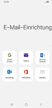 Samsung Galaxy S9 - Android Pie - E-Mail - 032b. Email wizard - Yahoo - Schritt 6