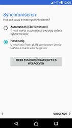 Sony Xperia X Compact (F5321) - E-mail - Account instellen (POP3 zonder SMTP-verificatie) - Stap 20