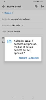 Huawei P Smart Z - E-mail - envoyer un e-mail - Étape 10