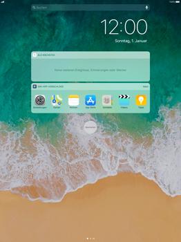 Apple iPad Pro 12.9 inch - iOS 11 - Sperrbildschirm und Benachrichtigungen - 4 / 9