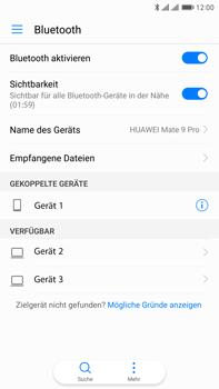 Huawei Mate 9 Pro - Bluetooth - Geräte koppeln - Schritt 9