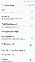 Samsung Galaxy A3 (2017) - Internet et roaming de données - Comment vérifier que la connexion des données est activée - Étape 5