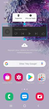 Samsung Galaxy S20 - Applications - Personnaliser l