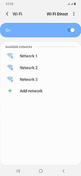 Samsung Galaxy A20e - Wi-Fi - Connect to Wi-Fi network - Step 7