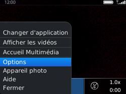 BlackBerry 9320 - Photos, vidéos, musique - Créer une vidéo - Étape 7