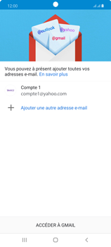 Samsung Galaxy Note20 - E-mails - Ajouter ou modifier votre compte Yahoo - Étape 14