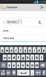 LG P700 Optimus L7 - E-mail - Sending emails - Step 9