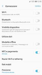 Samsung Galaxy A3 (2017) - Internet e roaming dati - Come verificare se la connessione dati è abilitata - Fase 5
