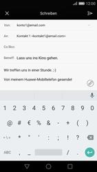 Huawei P8 - E-Mail - E-Mail versenden - 11 / 18
